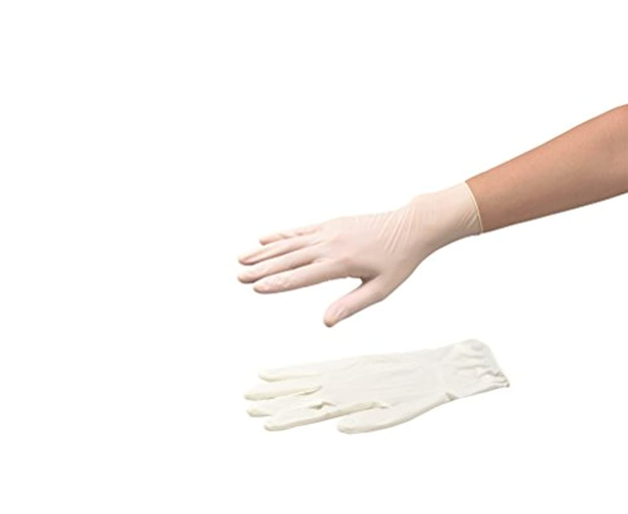 標準散る被害者ナビロール手袋(指先エンボス?エコノミータイプ?パウダー付) S 1箱(100枚入) /8-9970-03