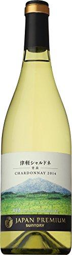 日本ワイン ジャパンプレミアム津軽シャルドネ 2014