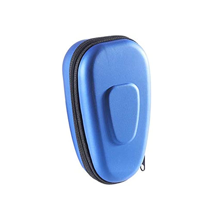 挨拶夫婦米ドルLing(リンー) 電動メンズシェーバー収納バッグ 防塵 防水性 耐衝撃 収納ケース 軽量 持ち運び 電動メンズシェーバーアクセサリー PU+EVA 【双色選べ】