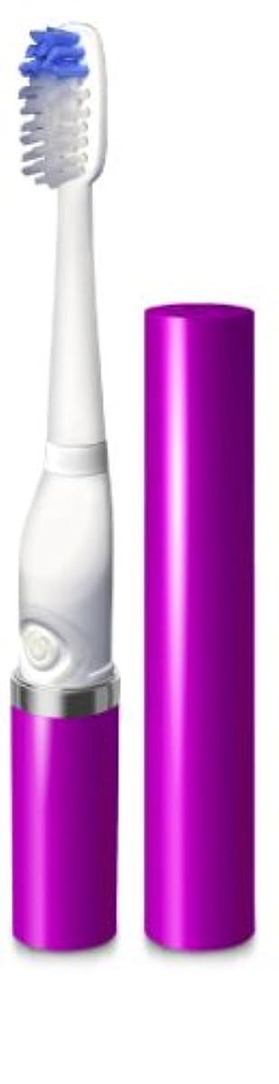 ファンタジー湿度立証するSlim Sonic Toothbrush Purple