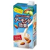 グリコ乳業 アーモンド効果 1000ml紙パック×6本入