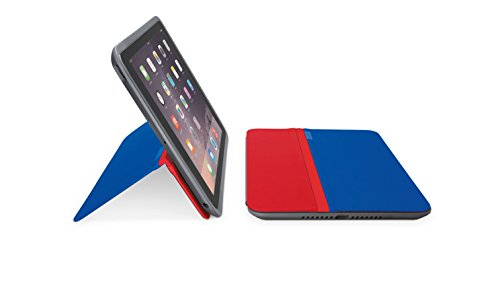Logicool ロジクールフリーアングルプロテクションケーススタンド for iPad Air 2用 ブルー&レッド iC1051BR