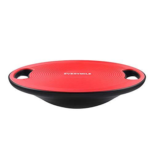 バランスボード ダイエット 体幹トレーニング用 EVERYMILE 滑り止め 直径40cm 運動不足 エクササイズ 持ち運びやすい コアマッスル 丸形 運動 リハビリ