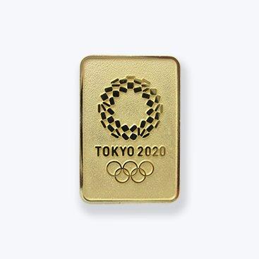 東京 2020 オリンピック 組市松紋 エンブレム 四角 エ...
