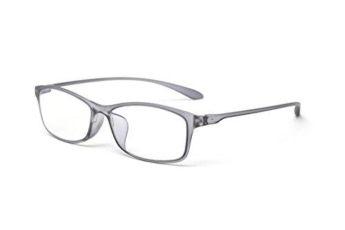 10カラーで遊べる老眼鏡 【Colors】 老眼鏡 おしゃれ レディース メンズ ブルーライトカット クリアブラック (M-209,C3,+1.00)
