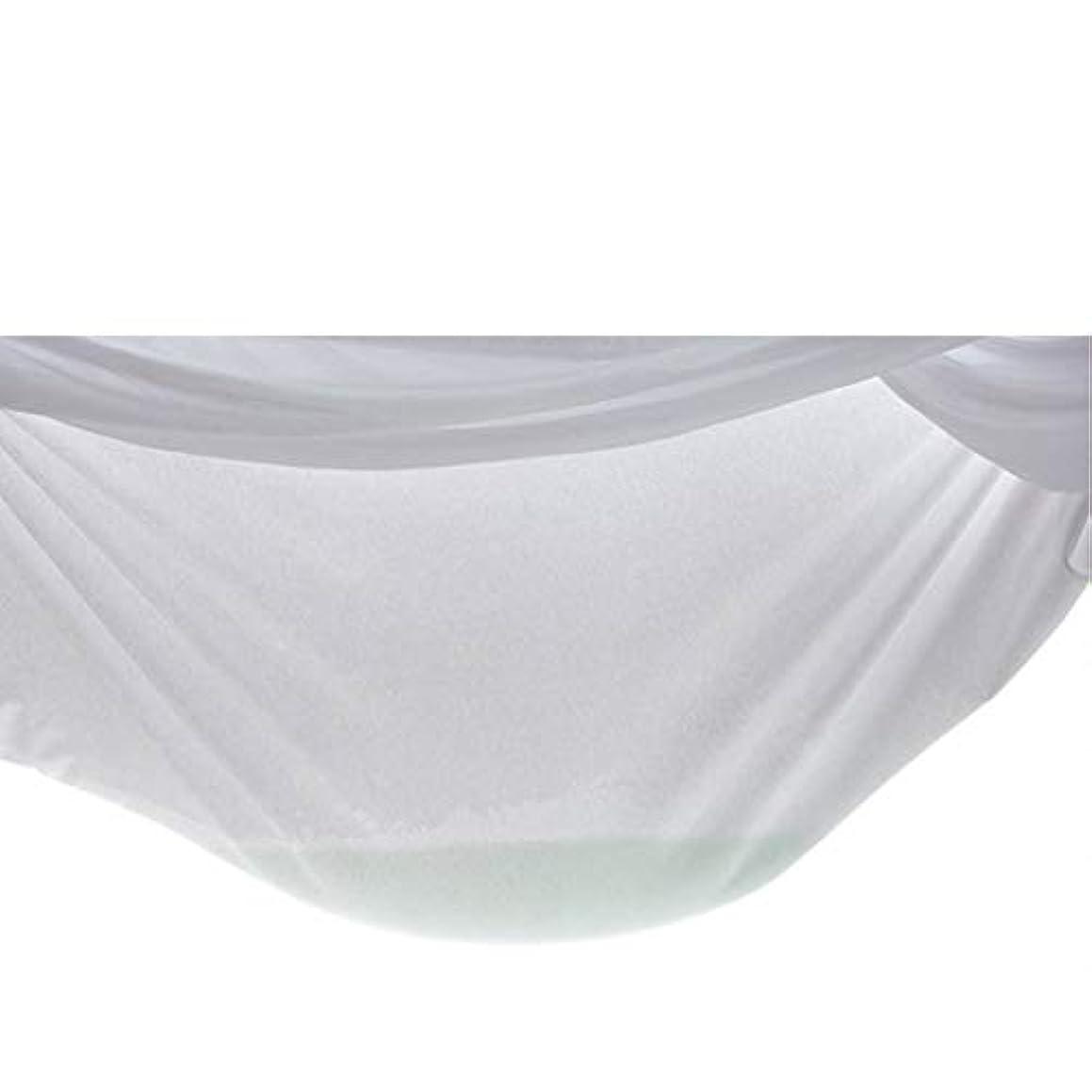 磁器緩める馬鹿防水ソリッドカラーベッドカバー家具ソファベッドダストカバー不織布不織布ダストカバー装飾大カバー-ホワイト60 * 120 + 10Cm