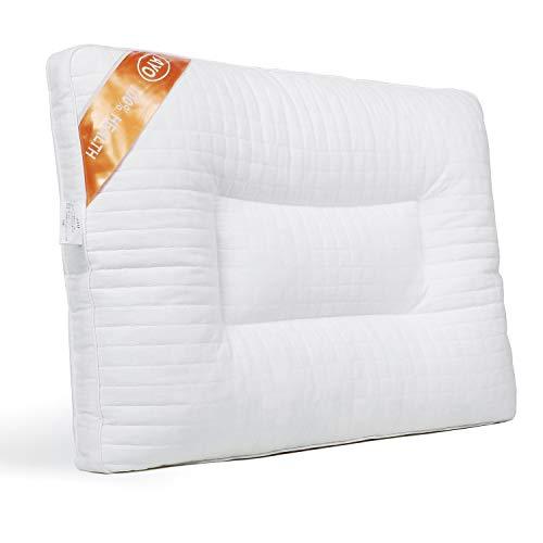 AYO 枕 安眠 人気 快眠枕 ラテックスまくら 頸椎サポート 安眠枕 低反発 疲労解消 いびき防止 抗ダニ 防臭 通気性抜群 肌に優しい 高級ホテル仕様 いいプレゼントホワイト