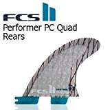 FCS2 エフシーエス ワンタッチ フィン クアッド FCS2 PERFORMER CARBON QUAD REARのみ FCS2 LARGE
