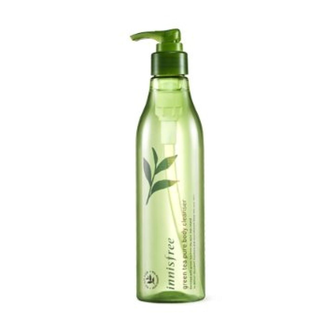 ボタン飲み込むむちゃくちゃ【イニスフリー】Innisfree green tea pure body cleanser - 300ml (韓国直送品) (SHOPPINGINSTAGRAM)