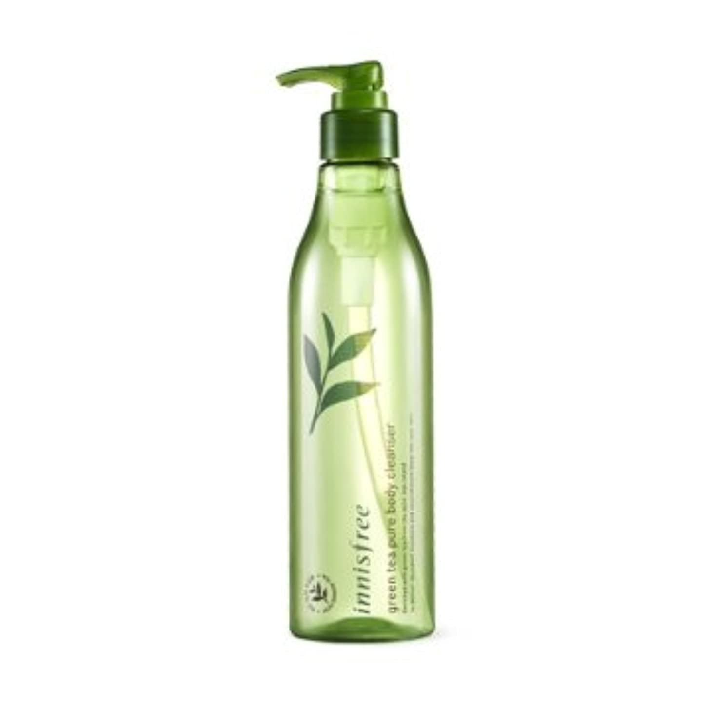 新鮮な高尚な緩める【イニスフリー】Innisfree green tea pure body cleanser - 300ml (韓国直送品) (SHOPPINGINSTAGRAM)