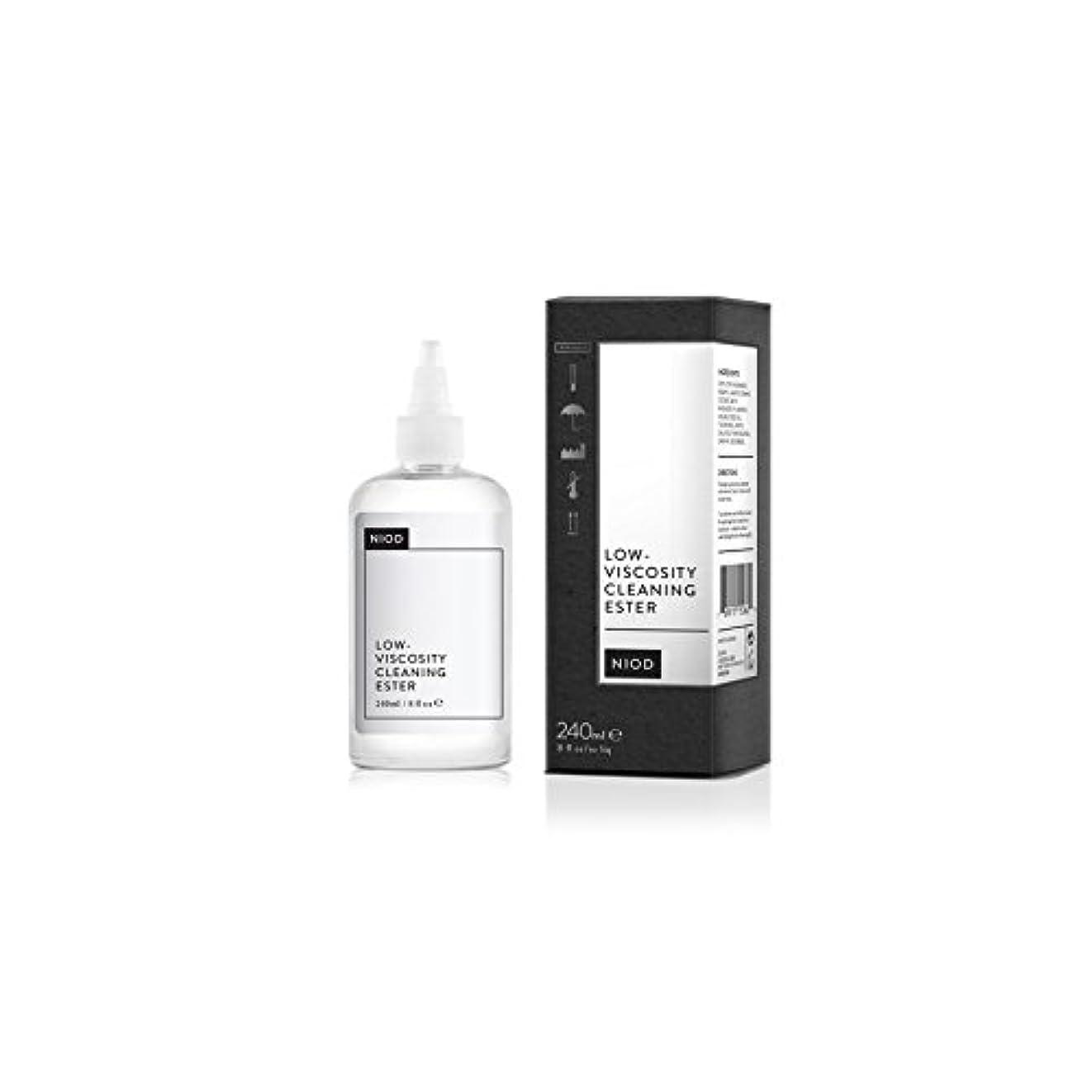 ビスケットリーフレット起きている低粘度のクリーニングエステル(240ミリリットル) x4 - Niod Low-Viscosity Cleaning Ester (240ml) (Pack of 4) [並行輸入品]