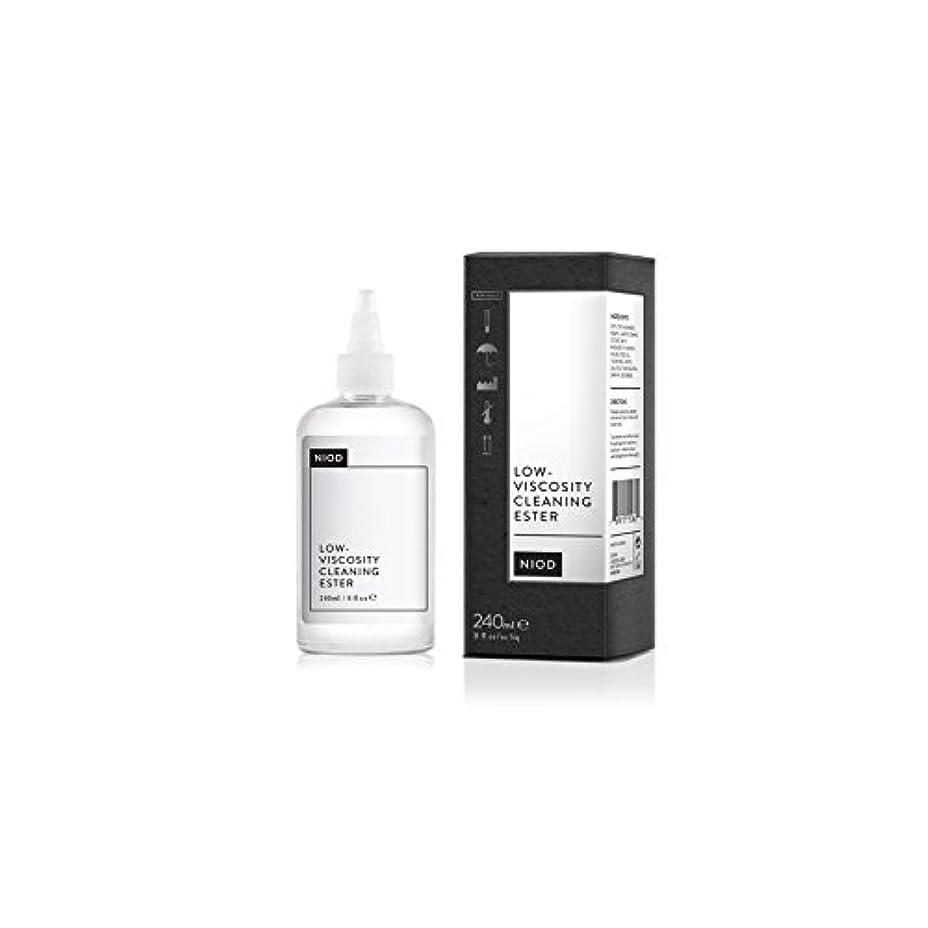 批判ベジタリアン回転低粘度のクリーニングエステル(240ミリリットル) x4 - Niod Low-Viscosity Cleaning Ester (240ml) (Pack of 4) [並行輸入品]
