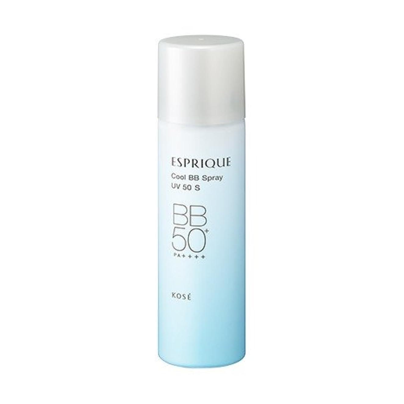 見落とす垂直可能コーセー エスプリーク ひんやりタッチ BBスプレー UV 50 S 35g #02 標準的な肌色