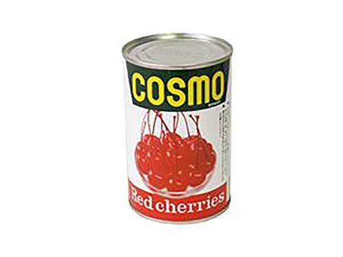 【 業務用 】COSMO レッドチェリー 枝付 M 4号缶 425g チェリー さくらんぼ