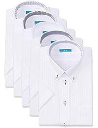 [アトリエサンロクゴ] ワイシャツセット 半袖 ワイシャツ 5枚セット 形態安定 クールビズ