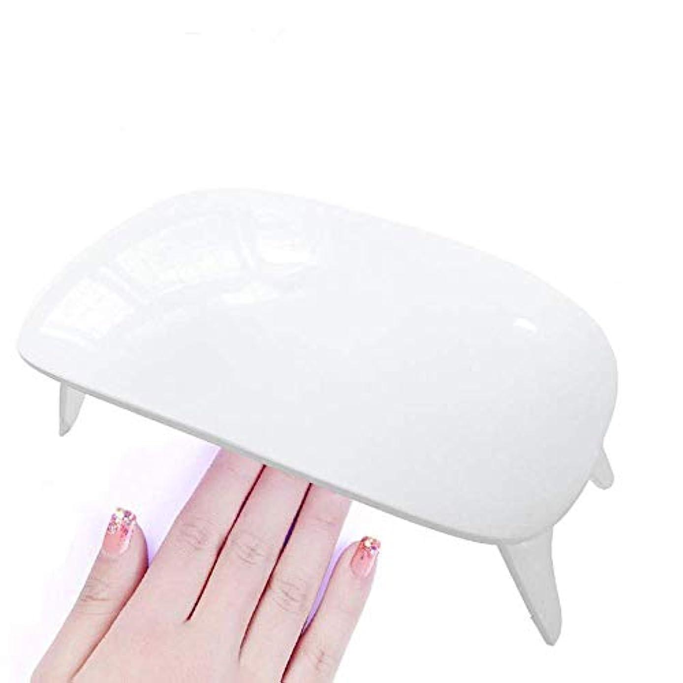 政府採用菊UVライト LEDネイルドライヤー ジェルネイルLEDライト 硬化ライト タイマー設定可能 折りたたみ式手足とも使える 人感センサー式 UV と LEDダブルライト ジェルネイル用 (白)
