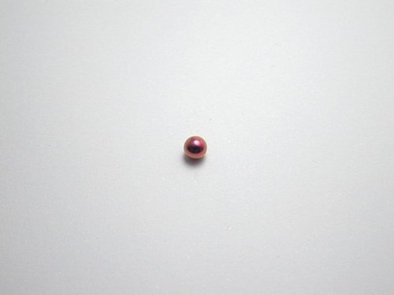 効能スペースモナリザ純チタンピアス 片耳 球φ3.0 ピンク 金属アレルギーの方も安心