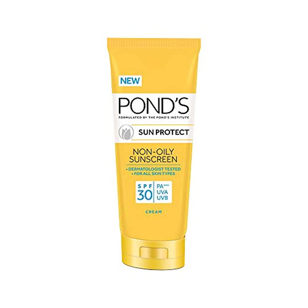 血まみれの下るほぼPOND'S Sun Protect Non-Oily Sunscreen SPF 30, 80 g