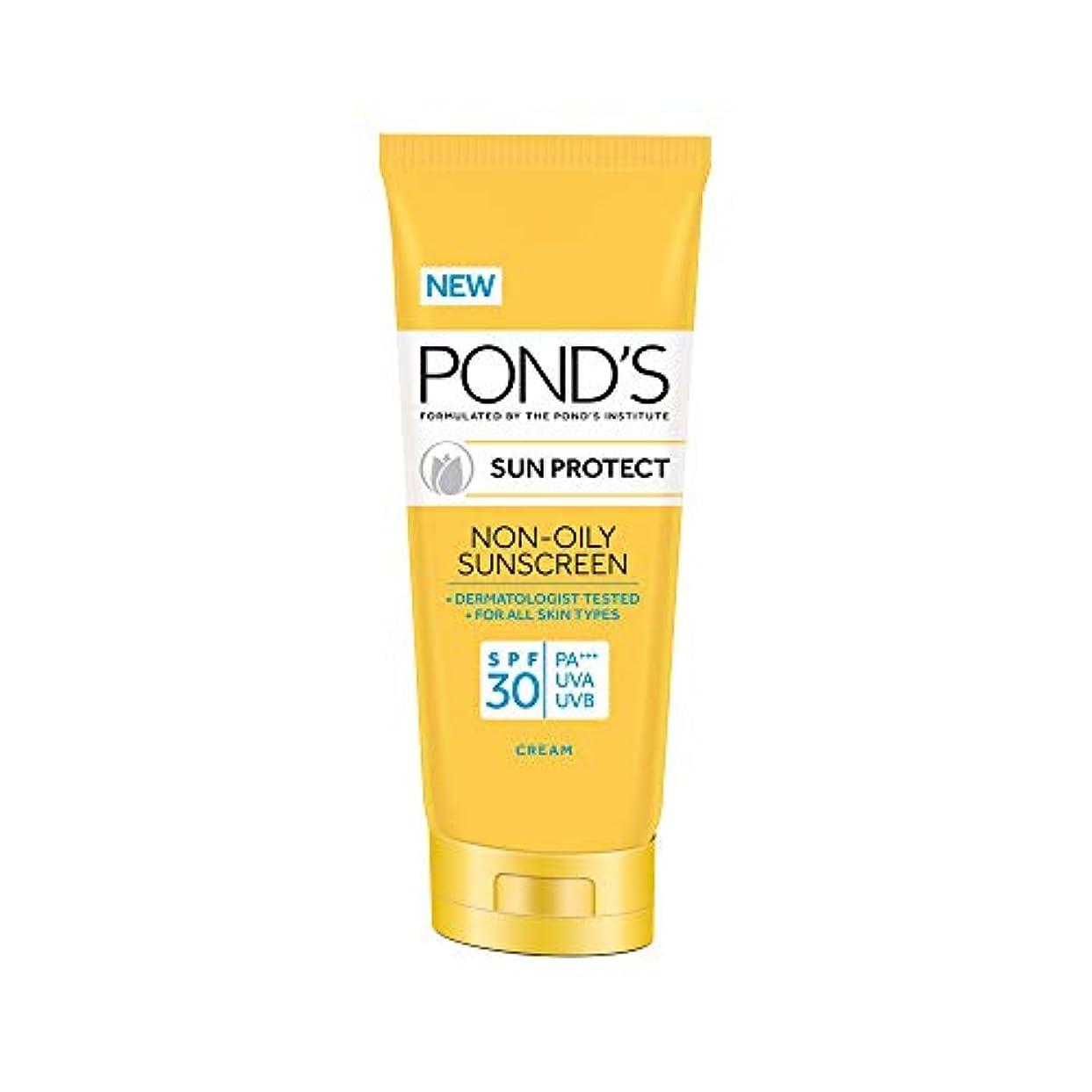 暗い失礼シュートPOND'S Sun Protect Non-Oily Sunscreen SPF 30, 80 g