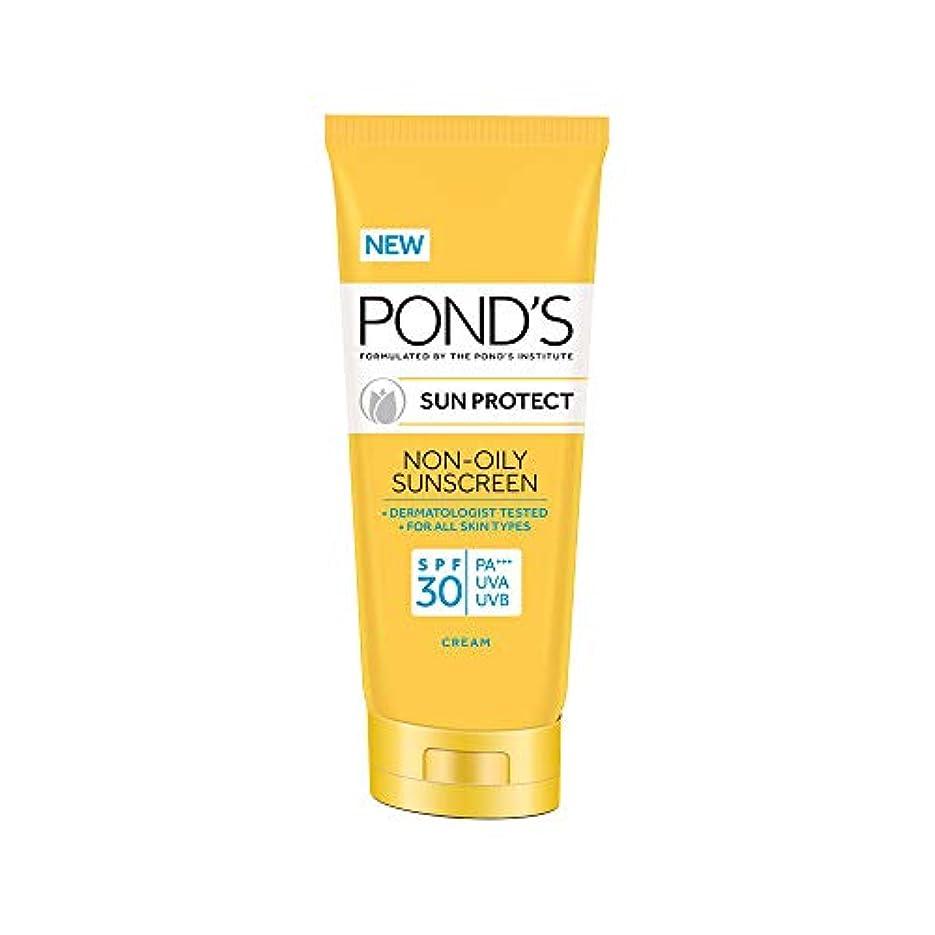 最終世界累積POND'S Sun Protect Non-Oily Sunscreen SPF 30, 80 g