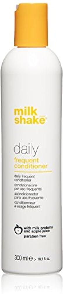 送料モザイク危険を冒しますmilk_shake 毎日頻繁コンディショナー、 10.1 fl。オンス