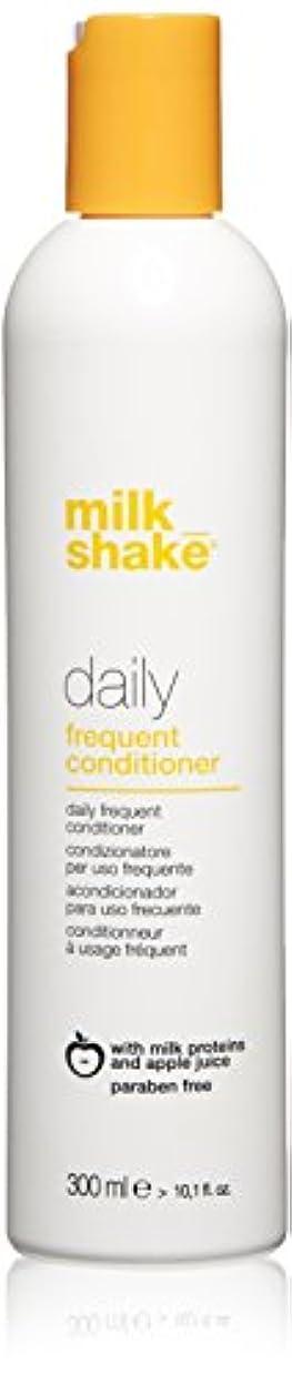偽曲げる吹きさらしmilk_shake 毎日頻繁コンディショナー、 10.1 fl。オンス