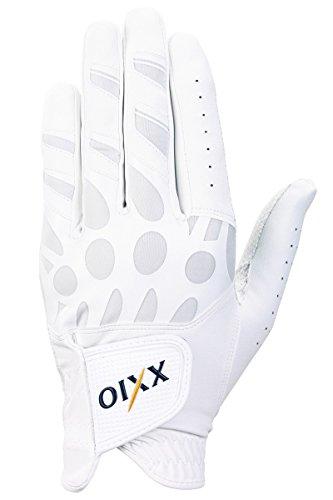 DUNLOP(ダンロップ) ゴルフグローブ XXIO ゴルフグローブ  GGG-X010 ホワイト 25cm