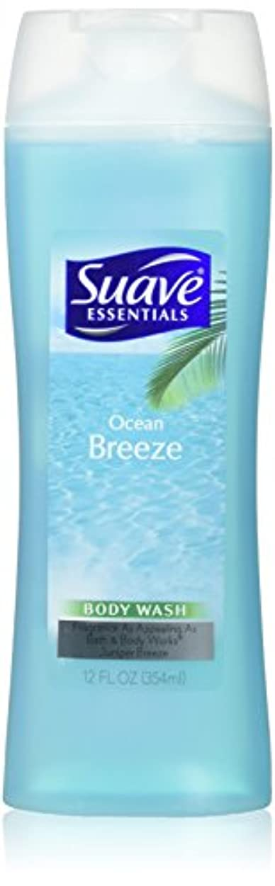 愛されし者三角形ローブ海外直送品Suave Naturals Body Wash, Ocean Breeze 12 Oz by Suave