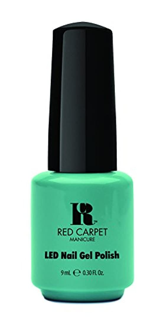 残高スズメバチ突進Red Carpet Manicure - LED Nail Gel Polish - A New York Minute - 0.3oz / 9ml