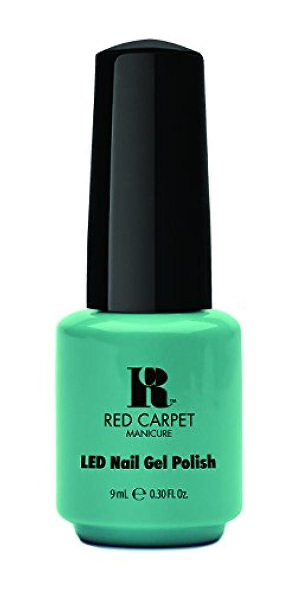 請願者聴覚障害者盲目Red Carpet Manicure - LED Nail Gel Polish - A New York Minute - 0.3oz / 9ml