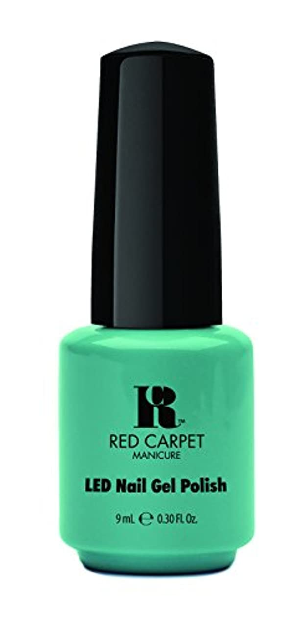 居住者ニックネーム酸化するRed Carpet Manicure - LED Nail Gel Polish - A New York Minute - 0.3oz / 9ml