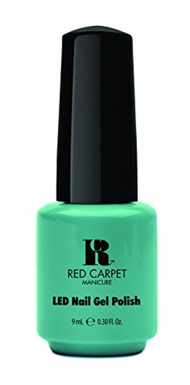ほこりすずめマーキーRed Carpet Manicure - LED Nail Gel Polish - A New York Minute - 0.3oz / 9ml