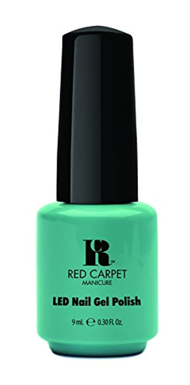 明確なのヒープ巨大なRed Carpet Manicure - LED Nail Gel Polish - A New York Minute - 0.3oz / 9ml
