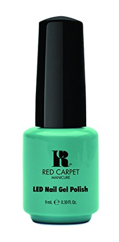 債務ソブリケットクラウドRed Carpet Manicure - LED Nail Gel Polish - A New York Minute - 0.3oz / 9ml