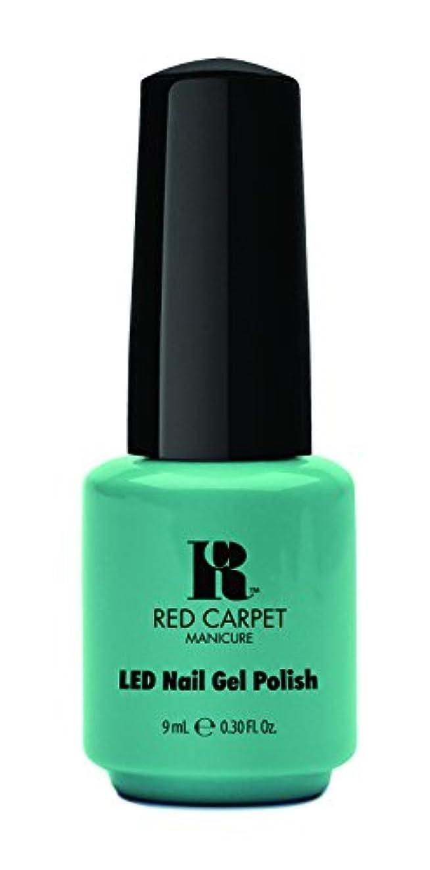 寓話裁判所振り子Red Carpet Manicure - LED Nail Gel Polish - A New York Minute - 0.3oz / 9ml