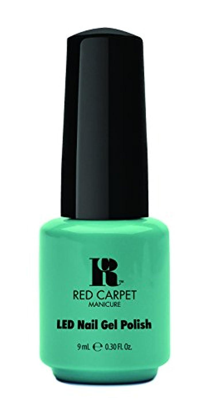 バケット広まった露出度の高いRed Carpet Manicure - LED Nail Gel Polish - A New York Minute - 0.3oz / 9ml
