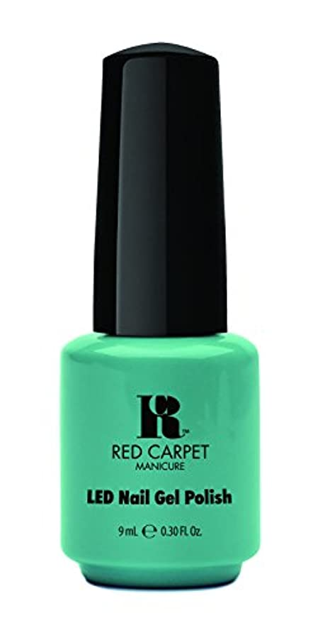 お嬢ながらファームRed Carpet Manicure - LED Nail Gel Polish - A New York Minute - 0.3oz / 9ml