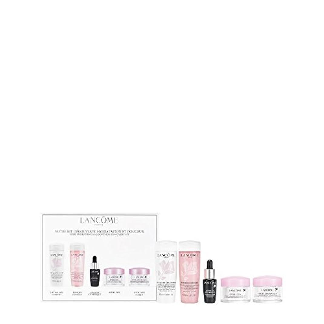 時折模索勇敢なランコム Your Hydration & Softness Discovery Kit: Confort Galatee+Confort Tonique+Genifique Concentrate+Hydra Zen...