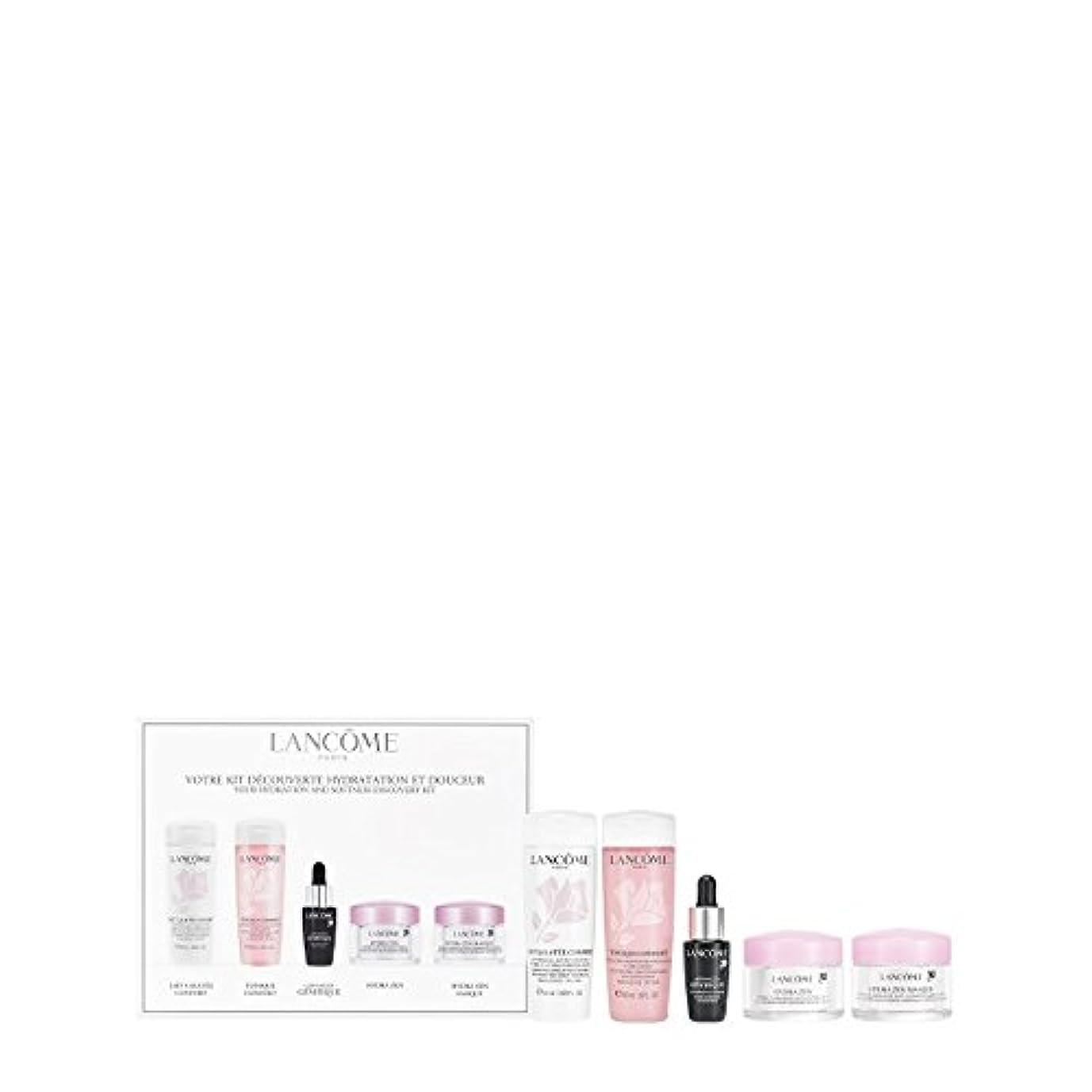 神経影響する司書ランコム Your Hydration & Softness Discovery Kit: Confort Galatee+Confort Tonique+Genifique Concentrate+Hydra Zen...