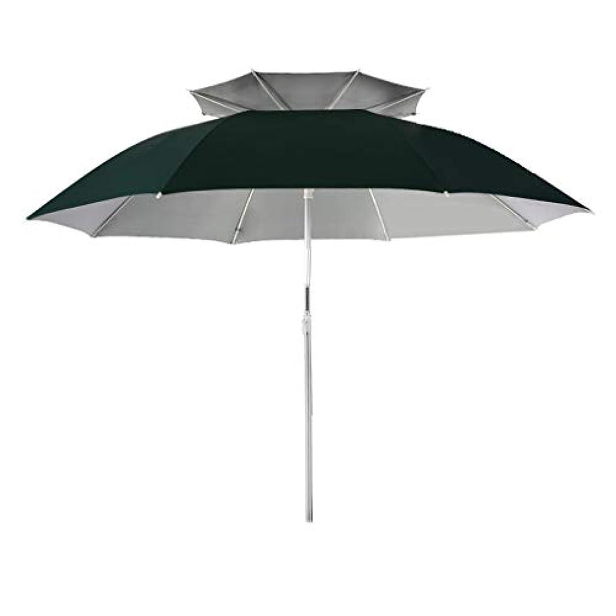 五コンサルタントグローブ太陽傘アルミ合金オックスフォード回転日焼け止め雨折りたたみ傘屋外サンシェード傘 (サイズ さいず : Diameter1.6m)