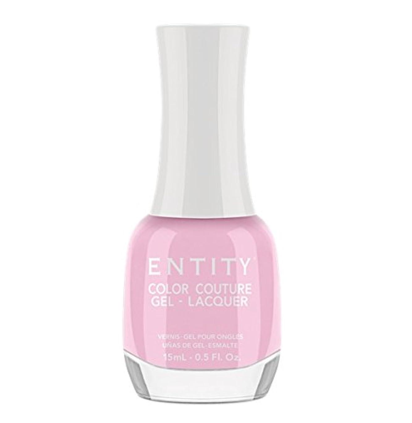 資本主義条件付き多くの危険がある状況Entity Color Couture Gel-Lacquer - Pure Chic - 15 ml/0.5 oz