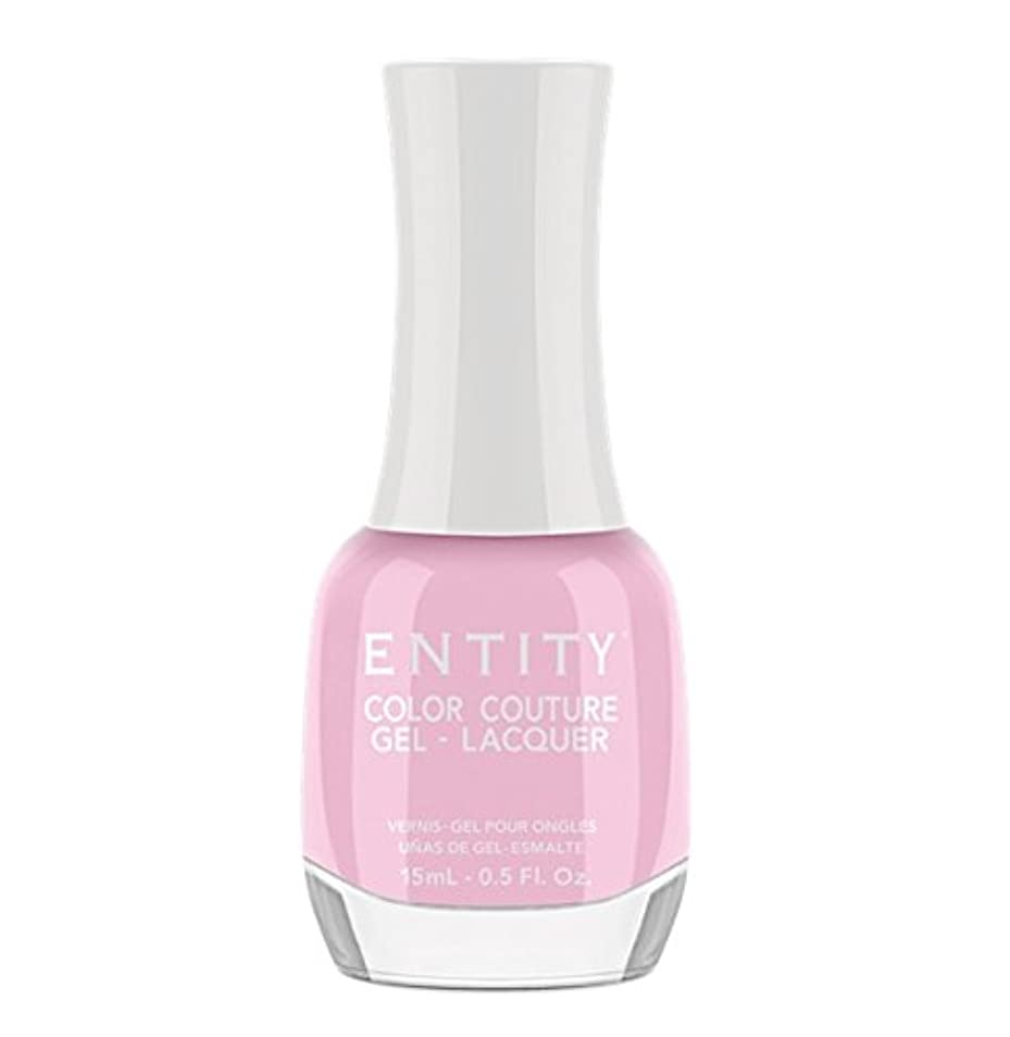 著作権ファランクス早熟Entity Color Couture Gel-Lacquer - Pure Chic - 15 ml/0.5 oz
