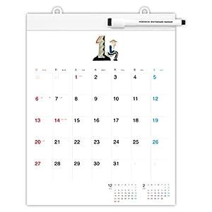 ほぼ日 カレンダー 2019 ホワイトボードカレンダー ミディアム 壁掛け