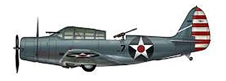 ホビーマスター 1/72 TDB-1デバステーター USSヨークタウン 完成品