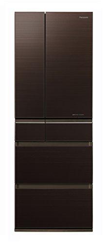 パナソニック 冷蔵庫 6ドア 500L パーシャル搭載 マチュアダークブラウン NR-F504HPX-T