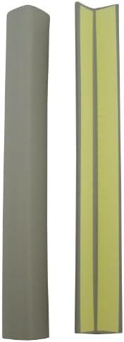 Hikari Adhesive-type Corner Sponge, Approx. 2.1 x 2.1 x 17.7 inches (54 x 54 x 450 mm), 2 Sponges, grey, PSRLY