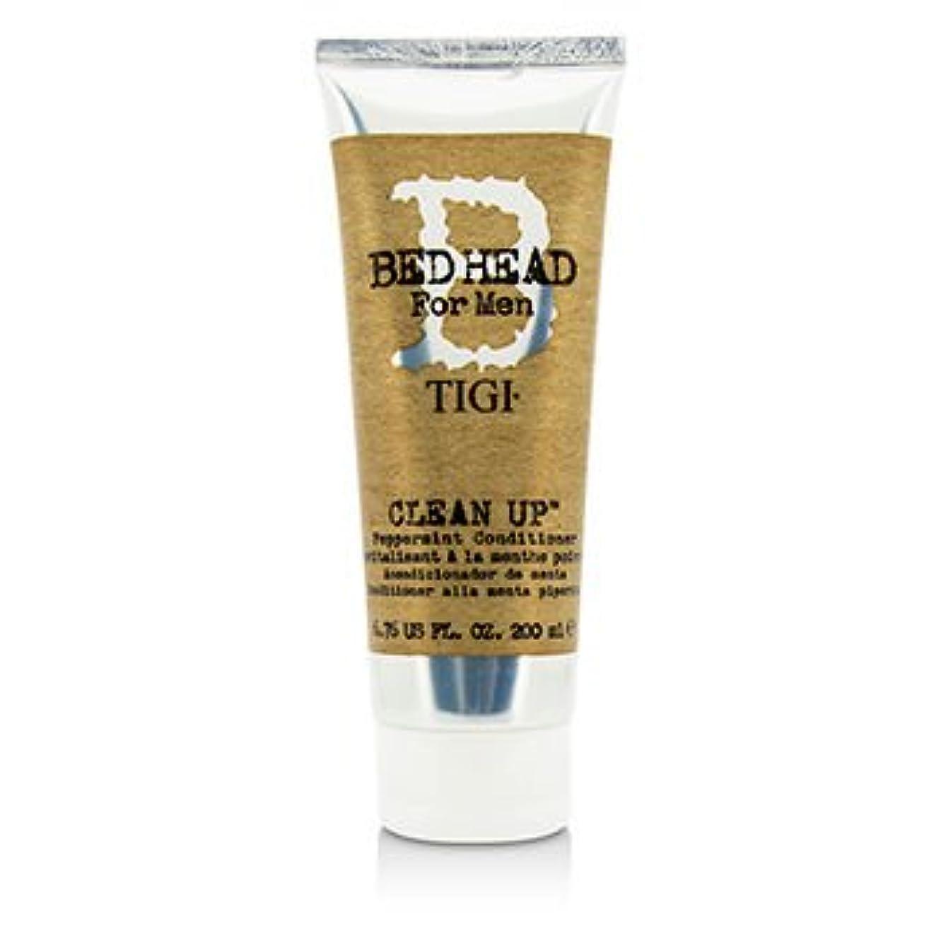 膨らませる中央フォアマン[Tigi] Bed Head B For Men Clean Up Peppermint Conditioner 200ml/6.76oz