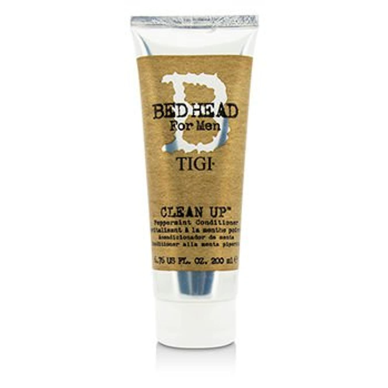 ダーリン説明的田舎者[Tigi] Bed Head B For Men Clean Up Peppermint Conditioner 200ml/6.76oz