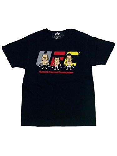 格闘技 好きにはこのTシャツ PansonWorks × UFC コラボ Tシャツ (a【ブラックS】)