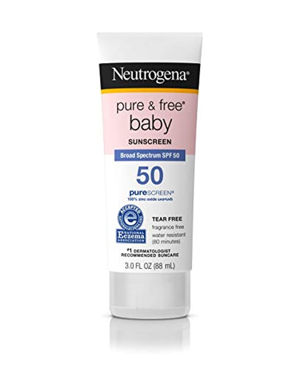 信頼性のある三十超高層ビルニュートロジーナ ベビー サンスクリーン SPF50 【88ml】 敏感肌 赤ちゃん 日焼け止め